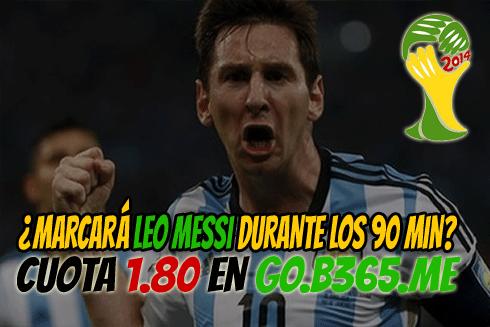 Apuesta Argentina vs Suiza Mundial Brasil 2014