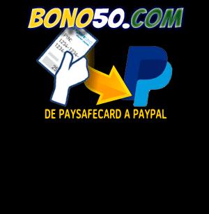 pasar dinero de paysafecard a paypal
