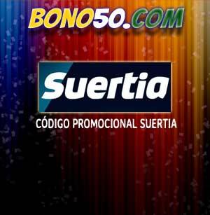 Código Promocional de Suertia Bono Bienvenida 2014