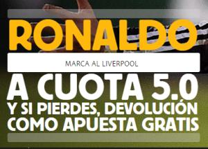 promociones apuestas liverpool vs real madrid 22 octubre 2014