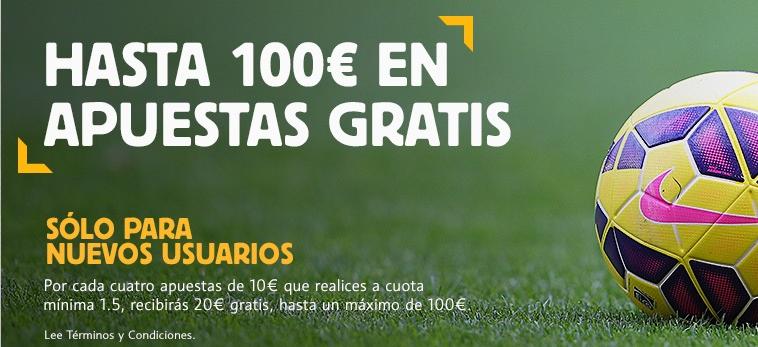 Bono bienvenida betfair ahora de 100 euros gratis!