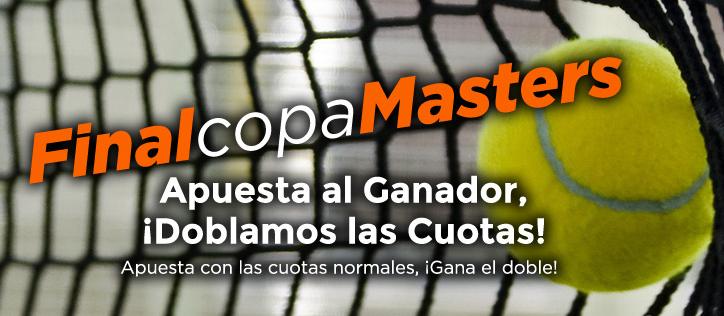 apuestas deportivas final masters cup 2014 tenis