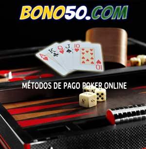 metodos de pago para jugar poker online