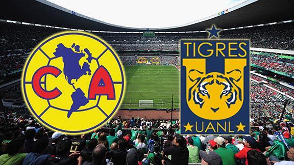 pronóstico america vs tigres domingo 14 diciembre 2014