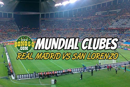 pronóstico apuestas real madrid vs san lorenzo hoy sábado 20 diciembre 2014