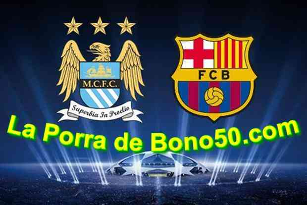 promociones apuestas manchester city vs barcelona martes 24 febrero 2015