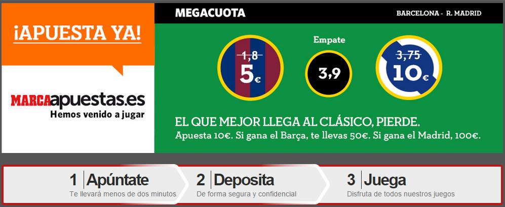 apuestas barcelona vs real madrid marca apuestas 22 marzo 2015
