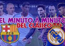 minuto a minuto en vivo barcelona vs real madrid 22 marzo 2015