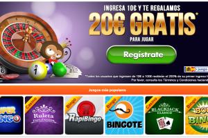 bono sin deposito 5 euros botemania jugar bingo