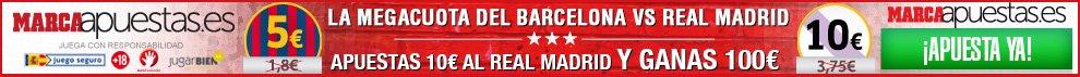 apuestas barcelona vs real madrid 22 marzo 2015