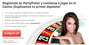 codigo de bono partypoker 2015