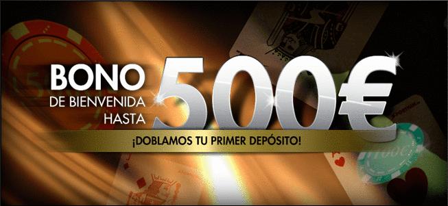 bono por deposito casino sportium 500 euros
