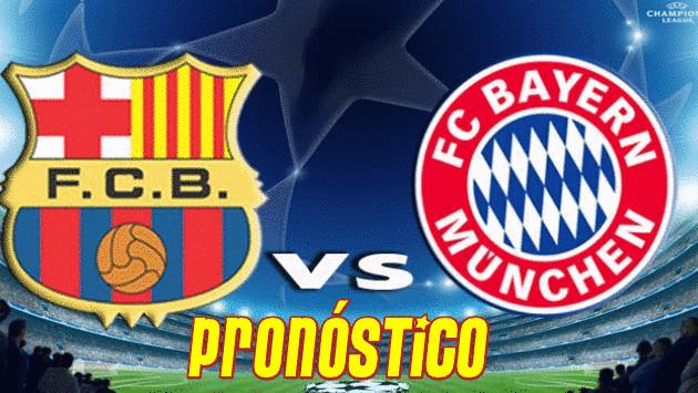 pronostico barcelona vs bayern munich hoy 6 mayo 2015