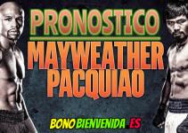 pronostico floyd mayweather vs manny pacquiao 2 mayo 2015