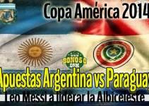 apuestas argentina vs paraguay copa américa hoy sábado 13 junio 2015