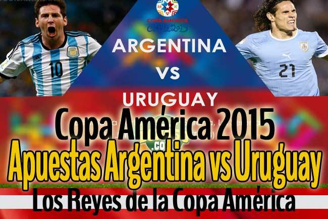 apuestas argentina vs uruguay copa america hoy martes 16 junio 2015