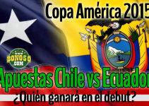 pronóstico chile vs ecuador hoy jueves 11 junio 2015 copa america