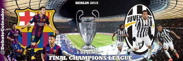 fc barcelona vs juventus final champions league 2014 2015