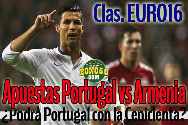 pronostico armenia vs portugal hoy 13 junio 2015 clasificación eurocopa