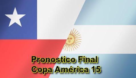 pronostico argentina vs chile final copa america hoy sábado 4 julio 2015