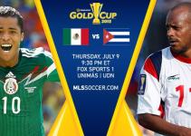 Pronóstico de la Copa Oro México vs Cuba Hoy 9 Julio 2015