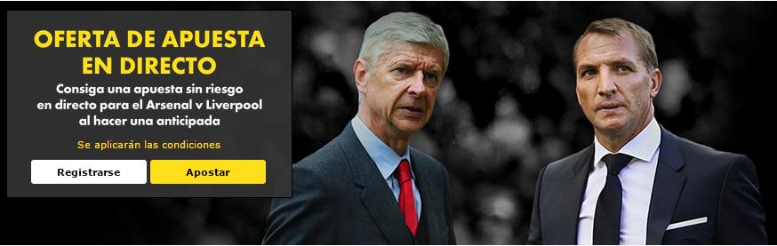 pronostico arsenal vs liverpool hoy lunes 24 de agosto del 2015