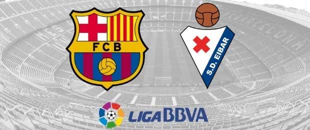 FC Barcelona vs Eibar 25/10/2015