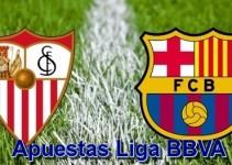 Apuestas Sevilla vs Barcelona 3 Octubre 2015 Jornada 7 Liga BBVA