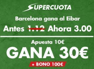Pronóstico FC Barcelona vs SD Eibar hoy domingo 25 de octubre del 2015