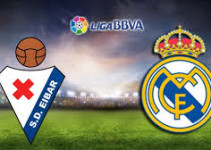 Real Madrid vs Eibar en vivo por internet hoy domingo 29 d enoviembre del 2015