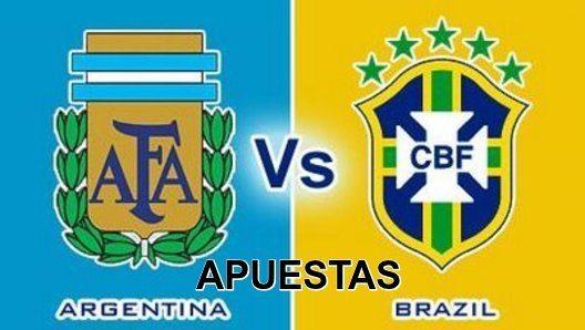 Pronóstico de apuestas deportivas Argentina vs Brasil Eliminatorias Mundial 2018 hoy viernes 13 noviembre 2015