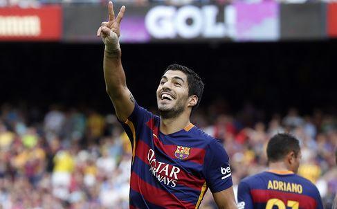 Luís Suárez marcará al menos un gol contra el Arsenal hoy martes 23 de febrero del 2016