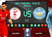 pronostico liverpool vs manchester city 28 febrero 2016