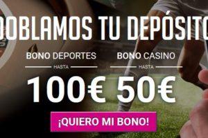 Oferta y promoción de bono de bienvenida Goldenpark.es para apuestas deportivas online y casino