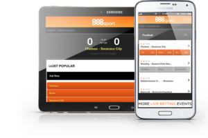 La aplicación móvil de 888sport.es para android y iOS