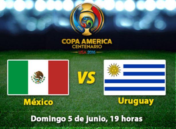 prediccion para el juego de la copa américa de México vs Uruguay de hoy domingo 5 de junio del 2016