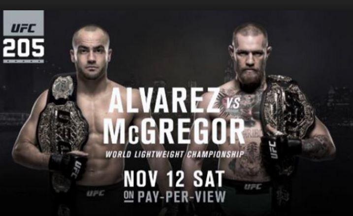 Conor McGregor vs Eddie Alvarez cuotas momios ganador el evento UFC el sábado 12/11/2016
