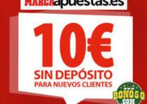 Bono para apuestas deportivas gratis online sin depósito previo requerido en España