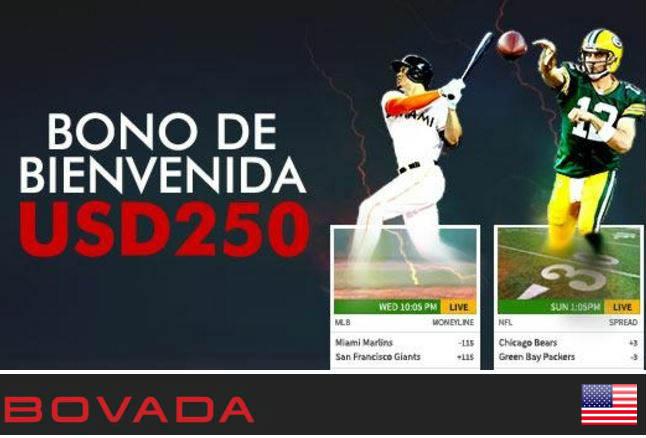 bovada la sala de apuestas deportivas en línea disponible para clientes de idioma Español en Estados Unidos de América