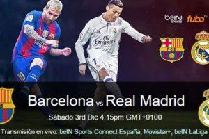 apuesta sin riesgos barcelona vs real madrid 3 diciembre 2016