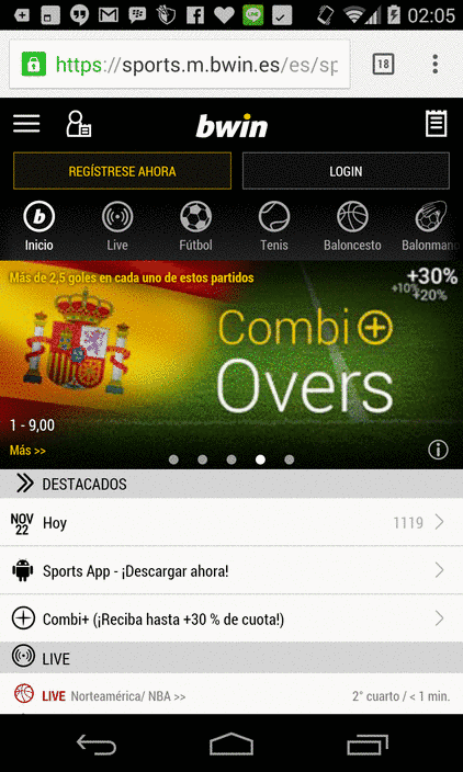 Bwin App Android
